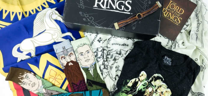 Loot Crate Limited Edition Lord Of The Rings Crate Review – Box 2