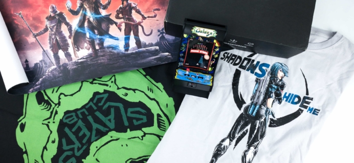 Loot Gaming September 2019 Subscription Box Review & Coupon – FRENZY!