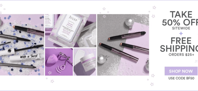 Julep Black Friday Deal: Save 50% Off Entire Site!
