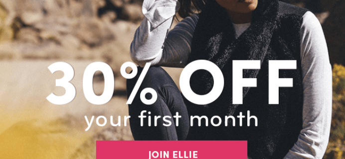 Ellie Early Black Friday Coupon: 30% Off First Month!