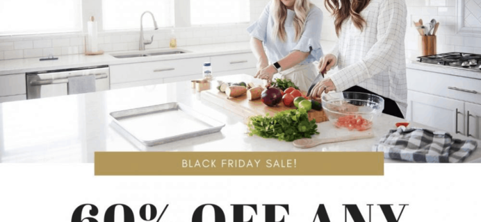 Six Sisters' Menu Plan Black Friday 2019 Coupon: Get 60% off Any Menu Plan!