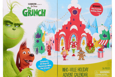 GRINCH Who-Ville Holiday Advent Calendar $14 Off Today ONLY!