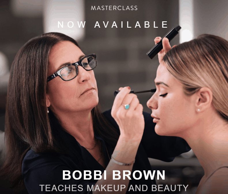 MasterClass Bobbi Brown Available Now!
