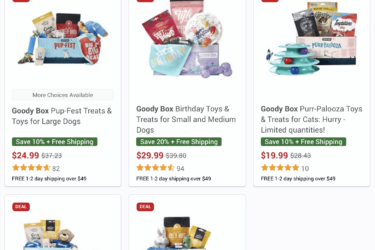 Chewy Goody Box Before Black Friday Deal: Save up to 20% on Goody Boxes! TODAY ONLY!