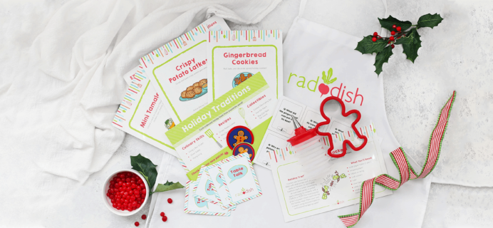 Raddish Kids Cyber Monday Deal: Get your first box for $5!