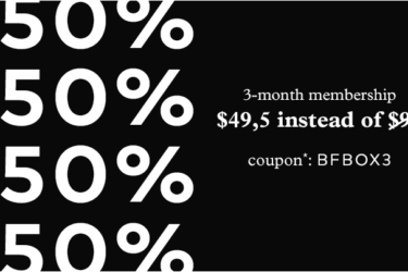 Emma & Chloe Black Friday Coupons! 50% Off 3-Month Subscription + 20% Off Gifts