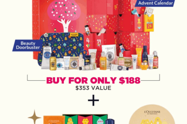 L'Occitane Black Friday Beauty Haul! BOTH Calendars + FREE Gifts – $188!