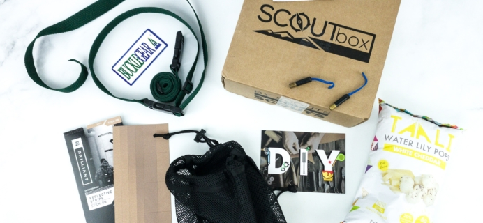 SCOUTbox November 2019 Subscription Box Review + Coupon