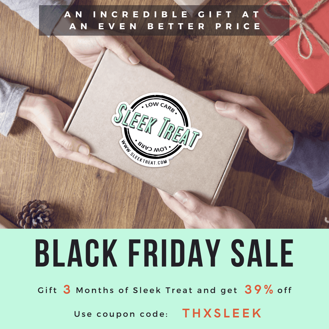Sleek Treat Black Friday Deal: Gift 3 months of Sleek Treat and save 39%!