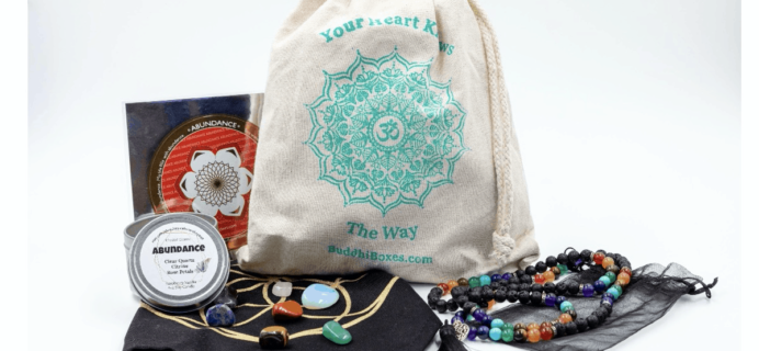 BuddhiBox Black Friday Deal: Save 50% off the first month of a yoga subscription!