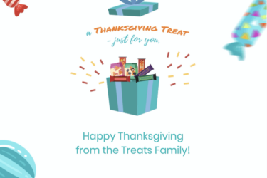Treats Thanksgiving Deal: Get 5 FREE Treats with your first Premium Treats Box!