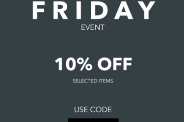 ThreeMain Black Friday Deal: Get 15% off shop items for your green home!