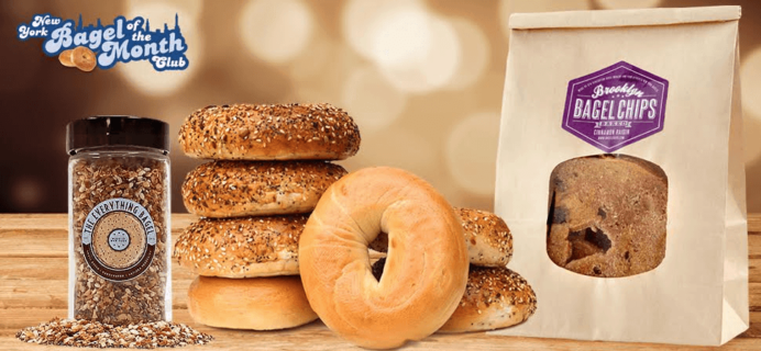 Bagel of the Month Club Black Friday Deal: Get 20% off on your first box!
