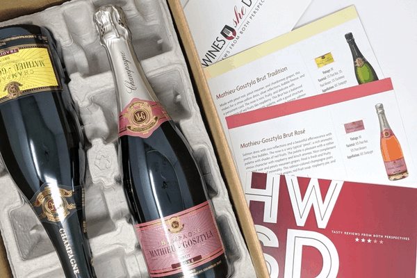 He Wines, She Dines Black Friday & Cyber Monday Deal: Get 50% Off your first box!