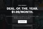 Hulu Black Friday & Cyber Monday Deal: Get an entire YEAR of Hulu for just $1.99 per month!