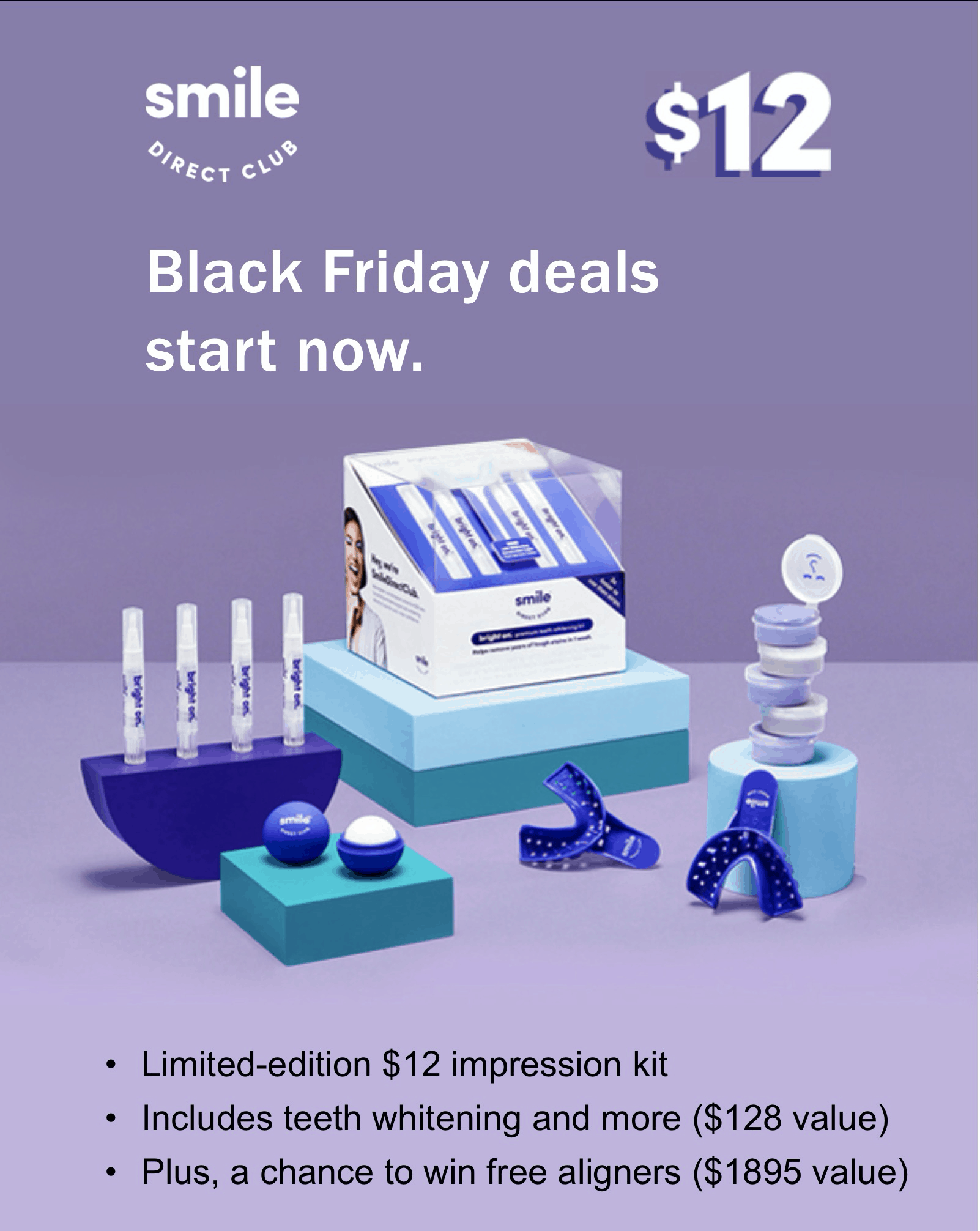 Smile Direct Club Black Friday Coupon: Get your kit for just $12!