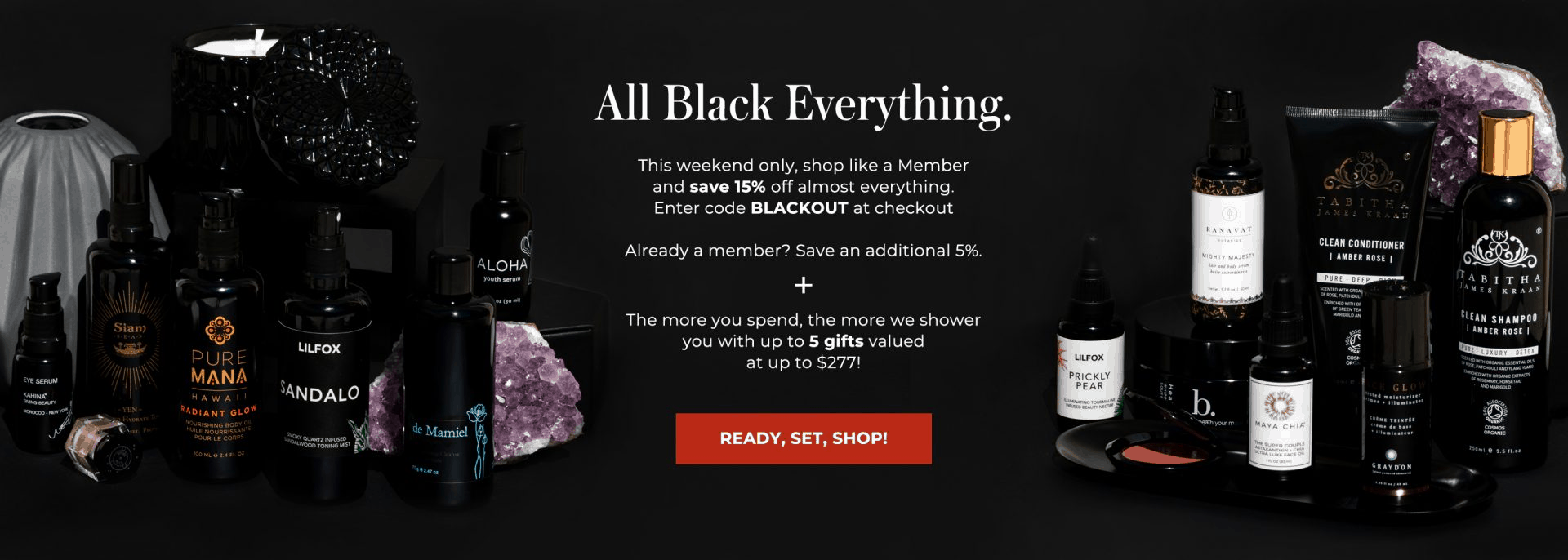 Beauty Heroes MEMBERS ONLY Black Friday Deal: Save 20% OFF + up to 5 Free Gifts with Purchase!