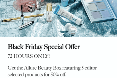 There's Still Time For The Allure Beauty Box Black Friday Sale: First Box 50% Off!