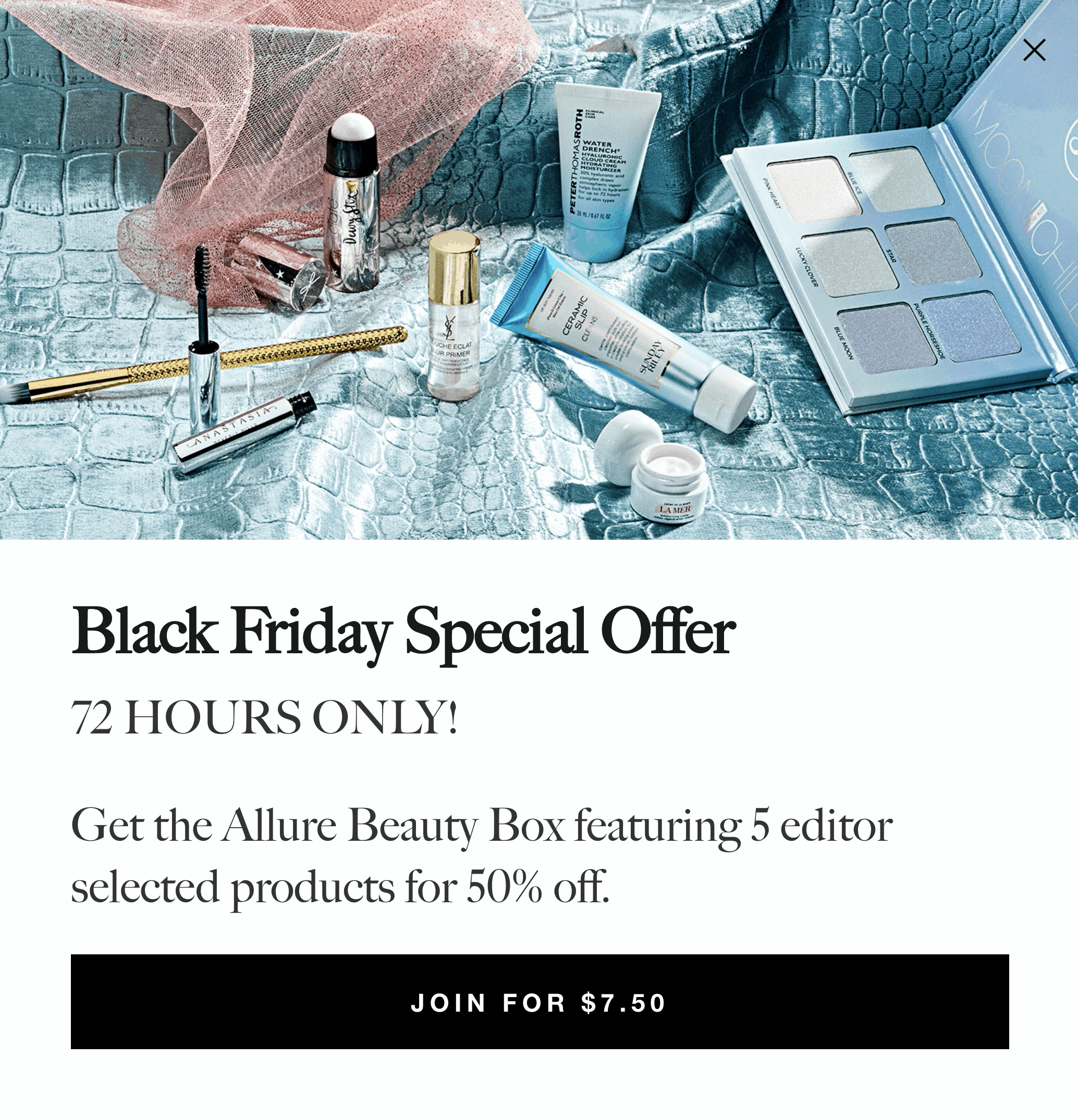 LAST CALL For The Allure Beauty Box Black Friday Sale: First Box 50% Off!