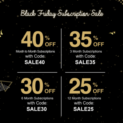 Beauteque Beauty Box & Mask Maven Black Friday Deals: Save up to 40% on subscriptions!