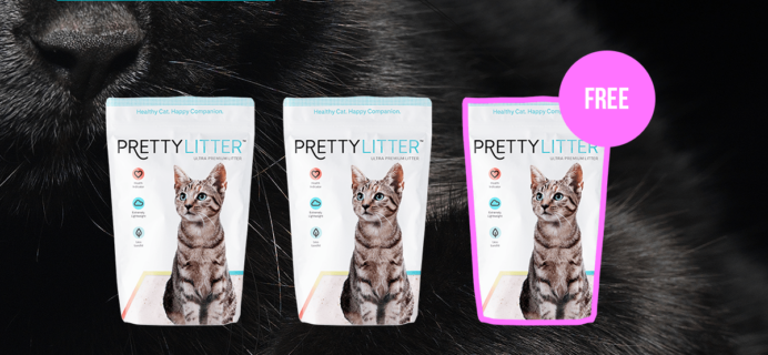 TODAY ONLY! PrettyLitter Black Friday Sale: Buy 2, Get 1 FREE!