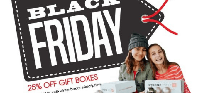 STRONG self(ie) Black Friday 2019 Sale: Get 25% Off Gift Boxes!