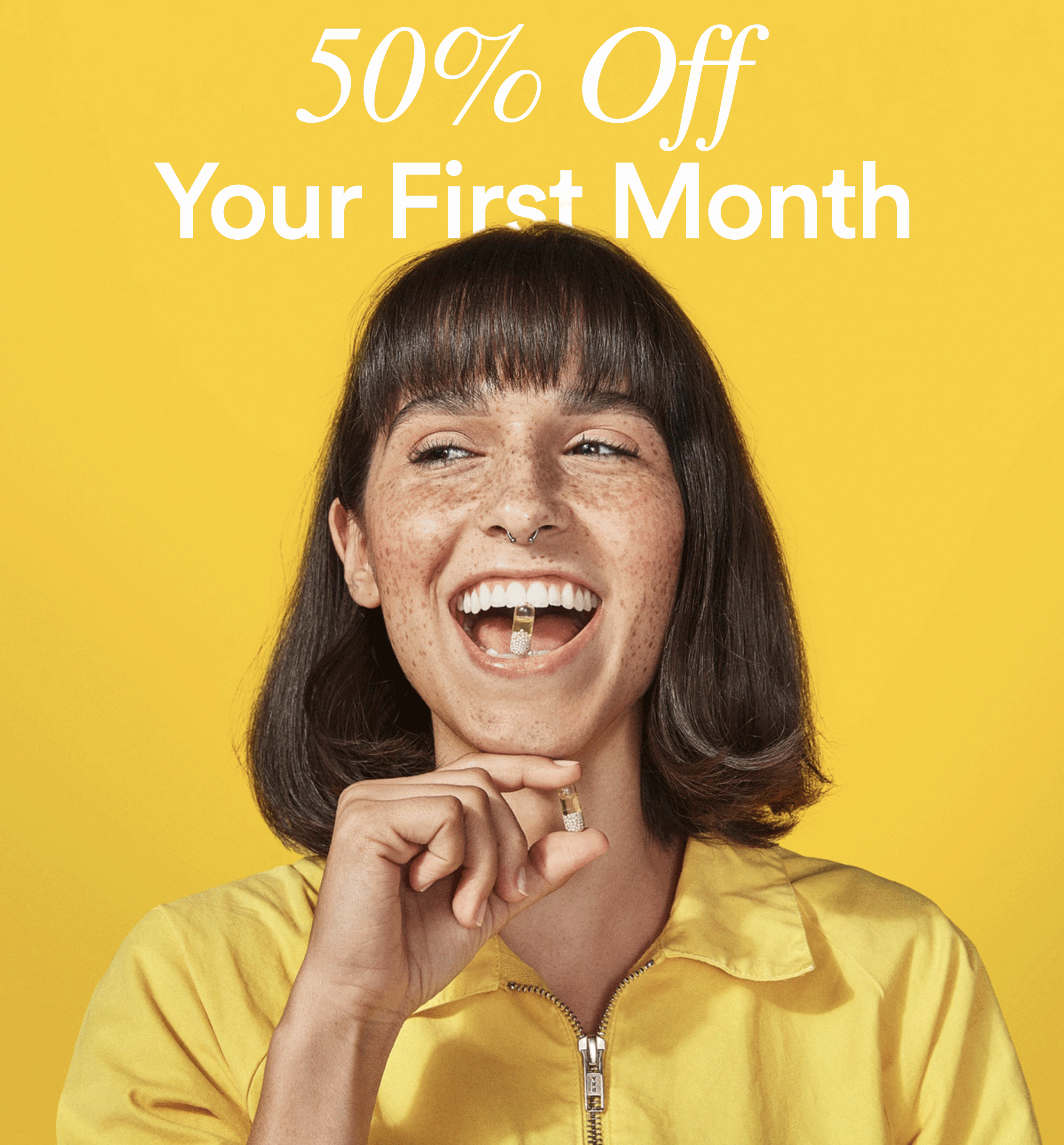 Ritual Vitamins Black Friday Sale EXTENDED: 50% Off First Month!