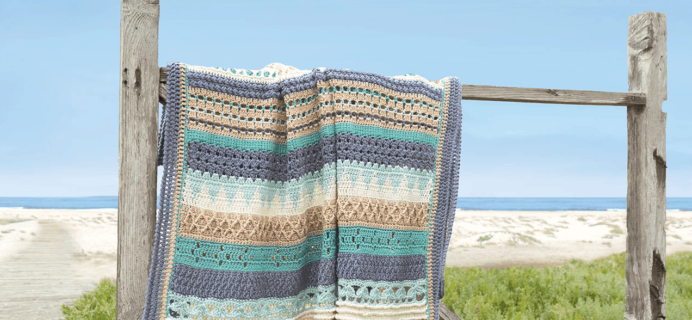 Annie's Crochet Striped Afghan Club – Review? + 50% Off Coupon!
