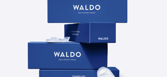 Waldo Contact Lenses Cyber Monday Sale! FREE Trial + 120 lenses FREE on first order!