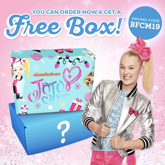 The Jojo Siwa Cyber Monday 2019 Coupon: FREE Bonus Box With Subscription!