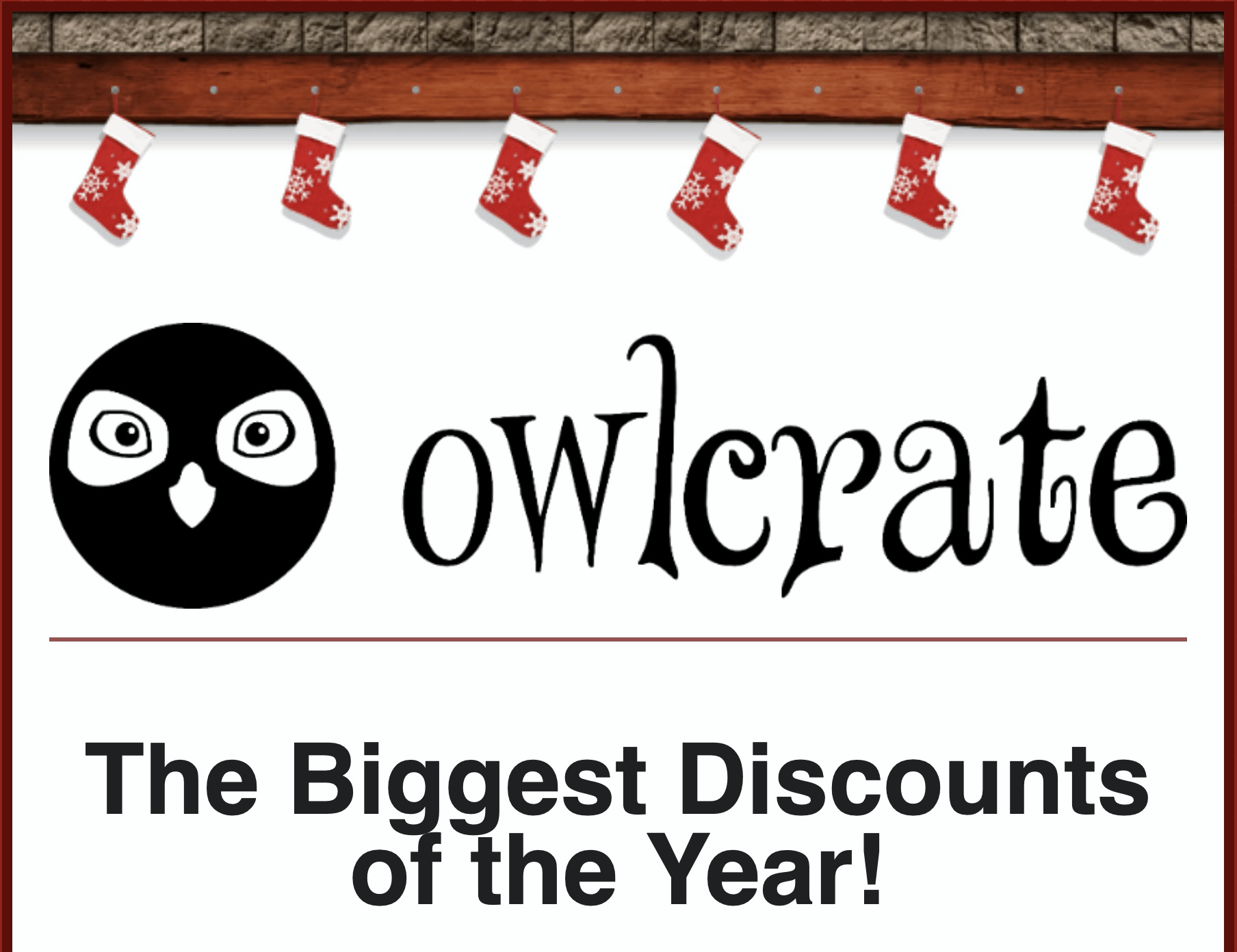 OwlCrate Cyber Monday Sale: Save 30% off on Past Boxes & Goodies!