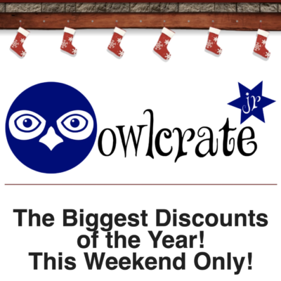 OwlCrate Jr. Cyber Monday: Past Boxes & Goodies 30% Off Sale!