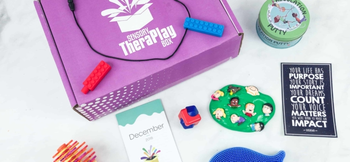 Sensory TheraPLAY Box Cyber Monday Deal: Save 30% on subscriptions!