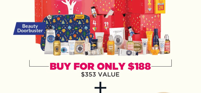 L'Occitane Cyber Monday Beauty Haul! BOTH Advent Calendars + FREE Gifts – $188!