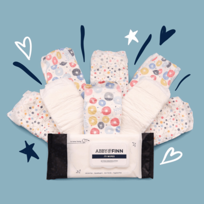 ABBY & FINN Cyber Monday Coupon: Save 20% off your first Diapers and Wipes Bundle!