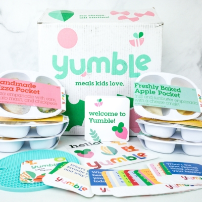 Yumble Kids Cyber Monday Deal: Save $100 On Your First Four Weeks!