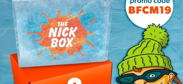 The Nick Box Cyber Monday 2019 Coupon: FREE Bonus Box!