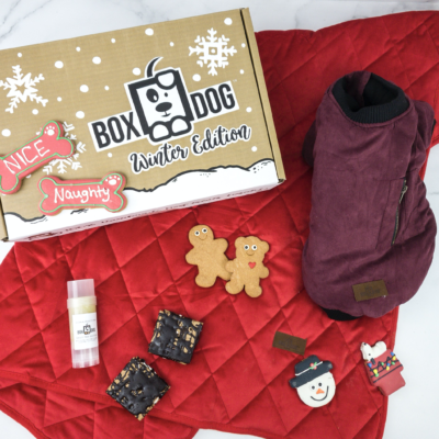 BoxDog Cyber Week Flash Deal: Get your first box for $10!