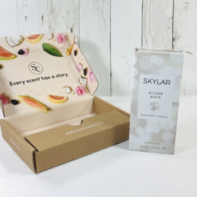 Skylar Scent Club December 2019 Subscription Box Review + Coupon