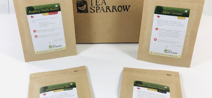 Tea Sparrow November 2019 Subscription Box Review