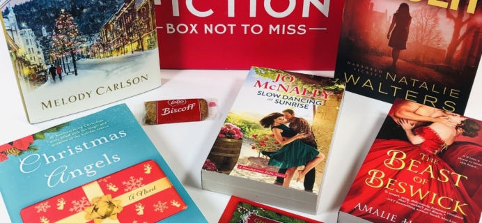 Fresh Fiction Box December 2019 Subscription Box Review + Coupon