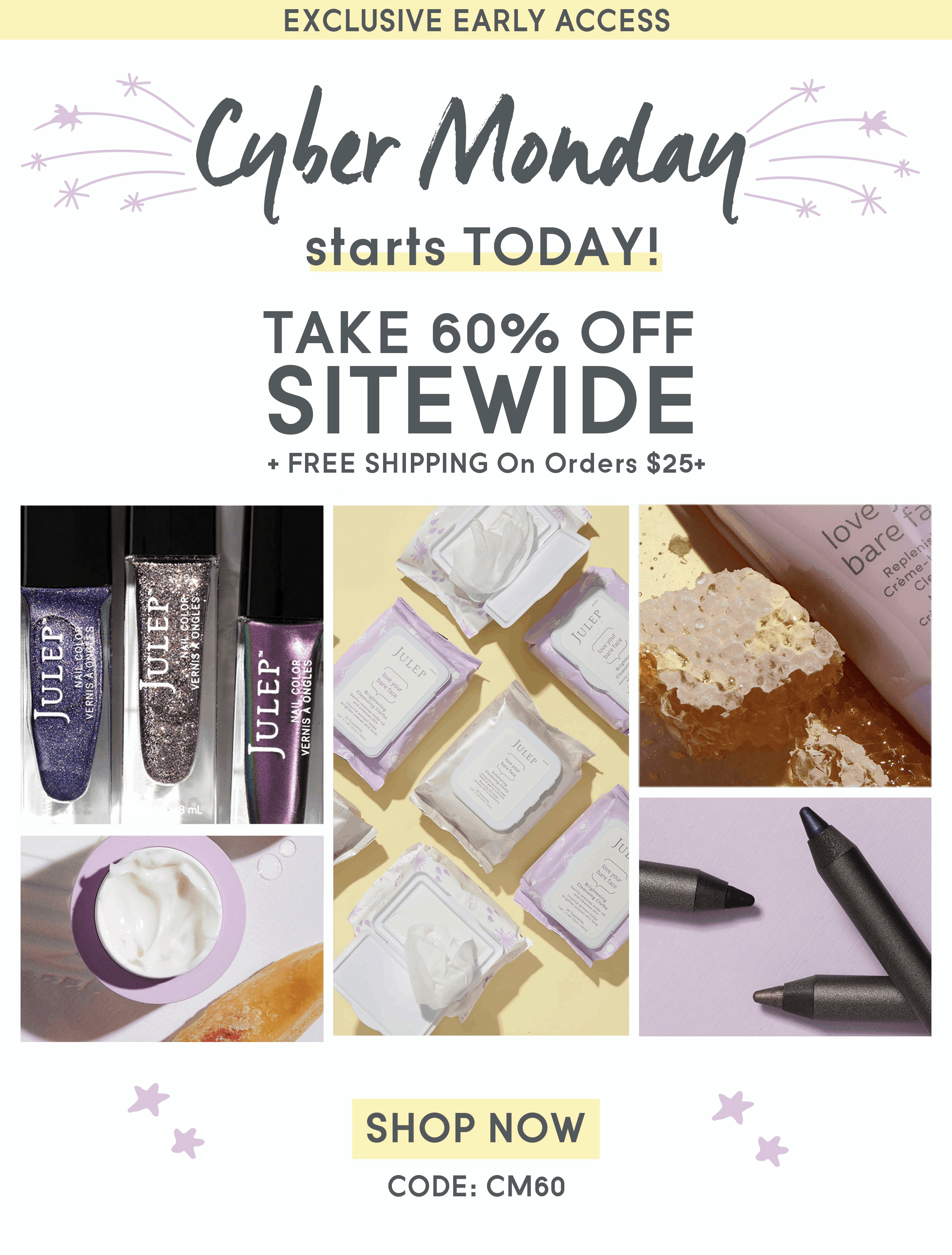 Julep Cyber Monday Deal: Save 60% Off Entire Site!