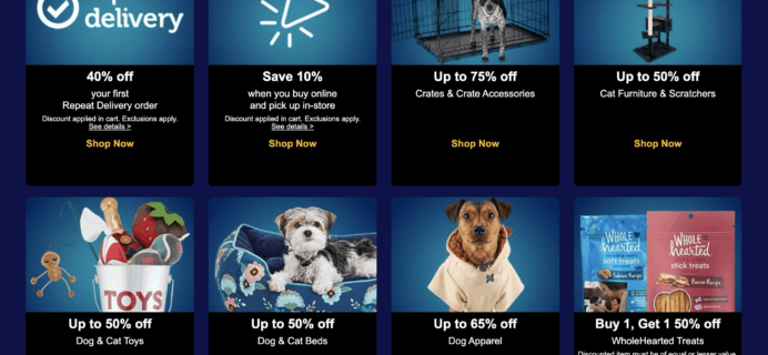 Petco Cyber Monday Deal: Get 40% off your first order on a repeat subscription!