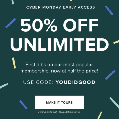 Rent the Runway Cyber Monday Deal: Save 50% On Unlimited!