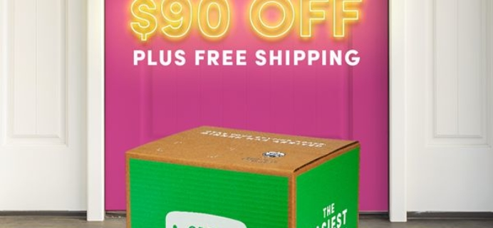 Green Chef Cyber Monday Deal: Get $90 off your first four boxes plus FREE shipping!
