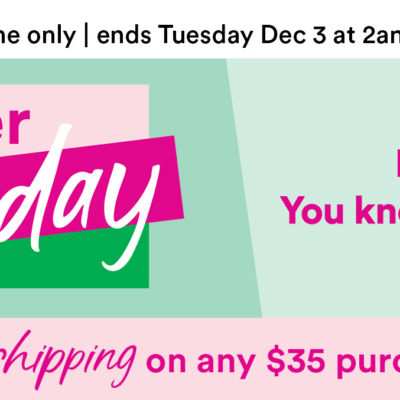 Ulta Cyber Monday Sale Starts Now + $10 Coupon + FREE Beauty Bag GWP!