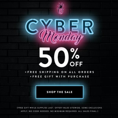 Pura Vida Cyber Monday Deal: Get 50% Off Entire Order + FREE Gift + Free Shipping!