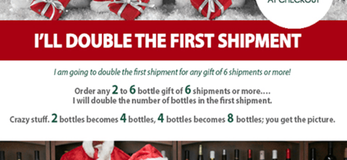 The Original and Only Wine of the Month Club Cyber Monday Deal: DOUBLE your First shipment!