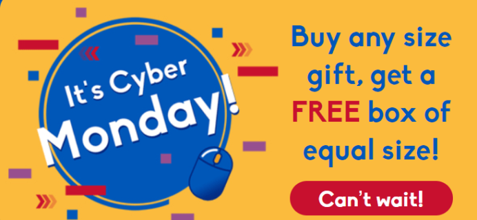 Universal Yums Cyber Monday Deal: Buy A Gift Box Get One FREE!