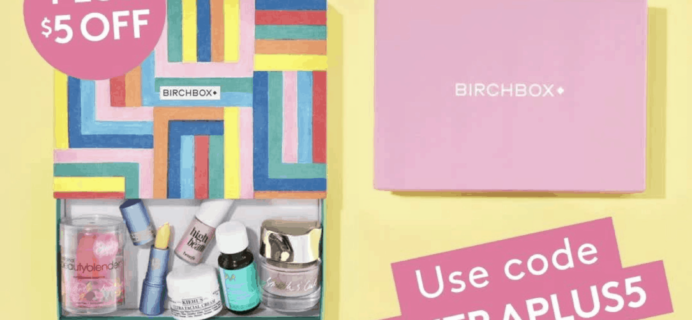 Birchbox Cyber Monday Deal: FREE Bonus Box with First Month + $5 Off!